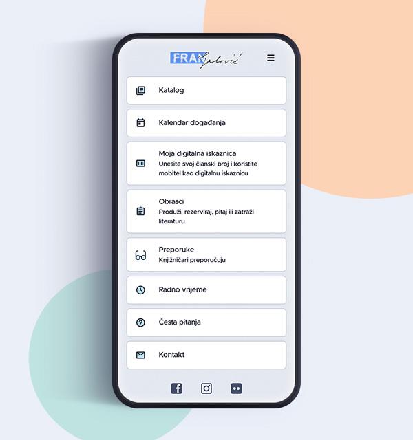 Aplikacija Fran Galović