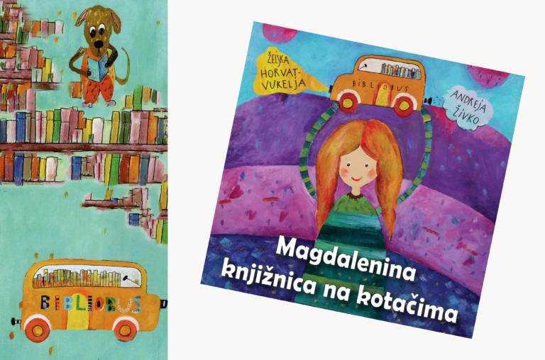 "Noć knjige / Online predstavljanje slikovnice ""Magdalenina knjižnica na kotačima"""